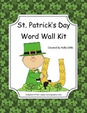 Word Wall Kit - St. Patty's Day Words