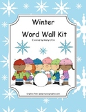 Word Wall Kit - Winter Words