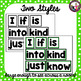Word Wall Kit for 1st Grade! Words! Headers! Title! Editable file too!