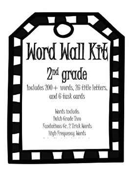 Word Wall Kit with Task Cards