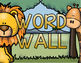 Word Wall Labels Alphabet Letter Cards Jungle Safari Theme
