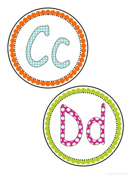 FREEBIE Word Wall Labels -Colorful