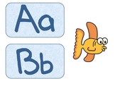 Word Wall Labels Fish Theme