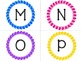 Word Wall Labels ~ Flower frames