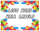 Word Wall Labels - Lego