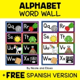 Bilingual Word Wall Letters