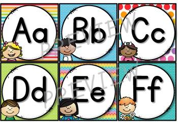 Word Wall Labels (Rainbow)