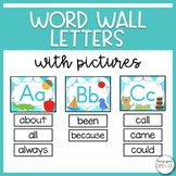 Word Wall Letters with Pictures
