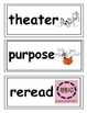 Word Wall Language Arts 2th grade (Marzano)