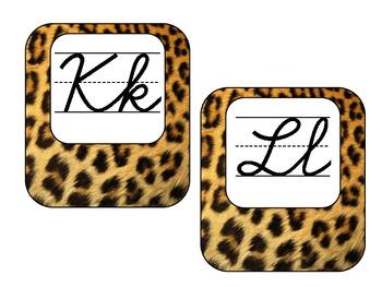 Word Wall - Leopard