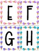 Word Wall Letter Cards: Ice Cream Theme