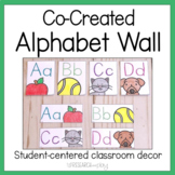 Co-Created Alphabet Wall for Student-Centered Decor