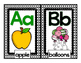 Alphabet Letter Cards and Alphabet Posters - Black & White