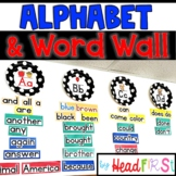Word Wall Letter Cards & Editable Flashcards