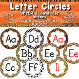 Word Wall Letter Circles Upper & Lower Case APT-001