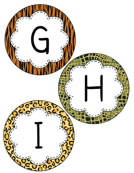 Word Wall Letter Circles Uppercase APT-001