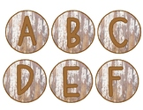 Word Wall Letter Circles and Editable Word Cards