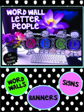 Word Wall Letter People: Alphabet Letters for Word Walls,