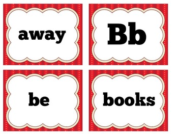 First Grade Word Wall | First Grade Word Wall Letters & Words