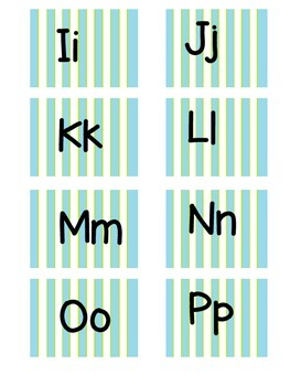 Word Wall Letters!