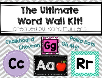 Ultimate Word Wall Kit