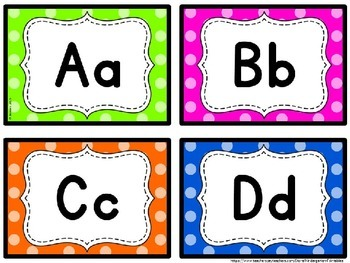graphic relating to Printable Word Wall Letters named Term Wall Letters