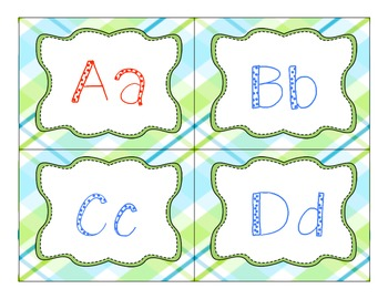 Word Wall Letters (2 pack)