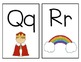 Word Wall Letters A-Z with Pictures