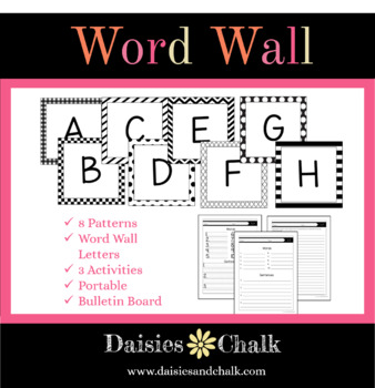 Word Wall Letters & Activities