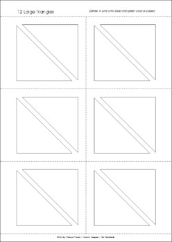 Tangram Alphabet Letters - Word Wall Letters + Puzzle Worksheets