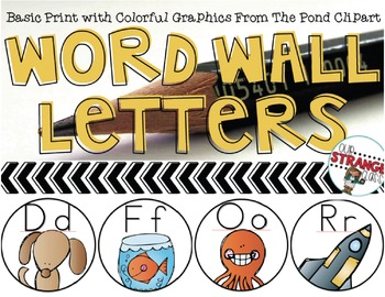 Word Wall Letters: Basic Print