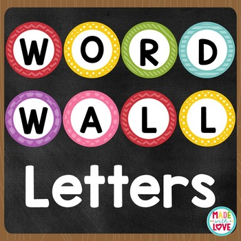 Word Wall Letters (Brights)