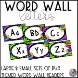 Word Wall Letters: Bug Theme