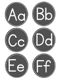 Word Wall Letters for Back to School FREE