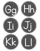 Word Wall Letters FREE