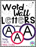 Word Wall Letters (For Bulletin Boards) {3 Color Choices A-Z}