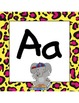 Word Wall Letters - Jungle/ Safari Themed - Large
