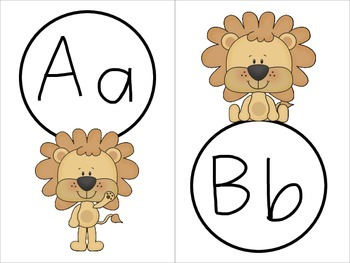 Word Wall Letters - Lions