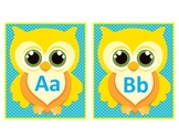 Word Wall Letters- Owl Theme