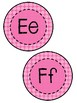 Word Wall Letters- Pink- FREEBIE!