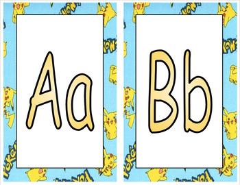 Word Wall Letters (Pokemon)