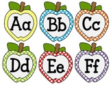 Word Wall Letters - {Polka Dot Apples}