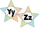 Word Wall Letters -Polka Dot Theme Alphabet