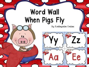 Word Wall Letters When Pigs Fly