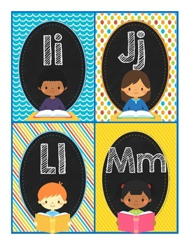 Word Wall Letters and 224 Sight Words (Kid Version) for Back to School