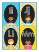 Word Wall Letters and 224 Sight Words (Kid Version) for Ba