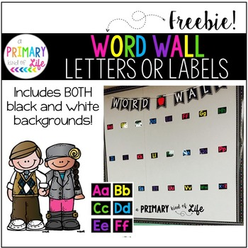 Word Wall Letters and Headings - FREEBIE!