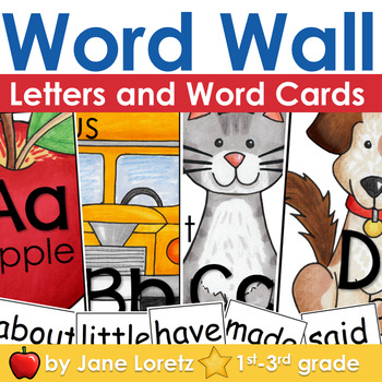 Word Wall (Letters and Words k-3)