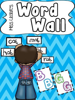 Word Wall Letters (create your own) Mur de mots
