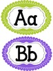Word Wall Letters  with Fry and Dolch Sight Word Lists